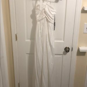 Whimsical White Maxi Dress